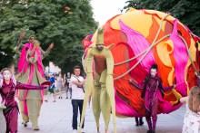 уличен спектакъл парад