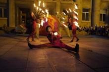 огнен спектакъл